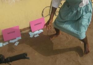 Engelsk i Bevægelse på skole i Ghana